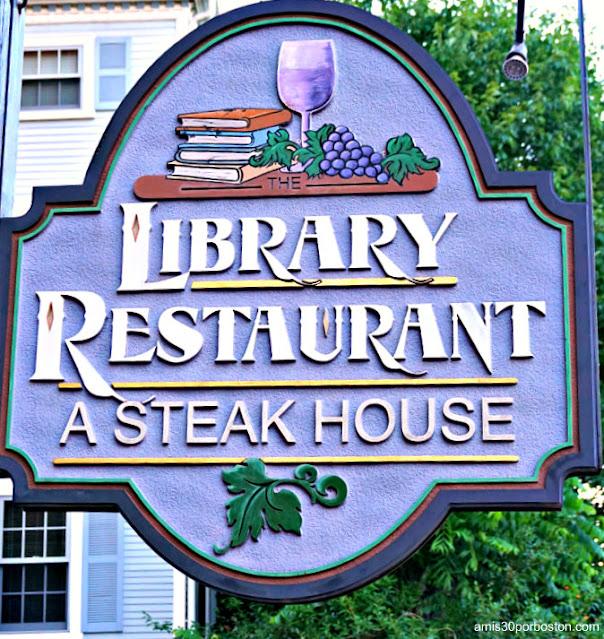 Asadores en New Hampshire: Library Restaurant