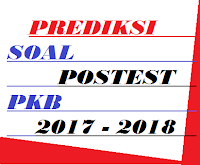 gambar soal postest pkb 2017 - 2018