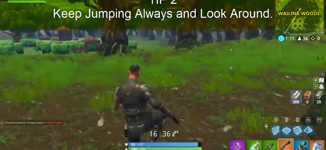 Keep Jumping Always and Look Around