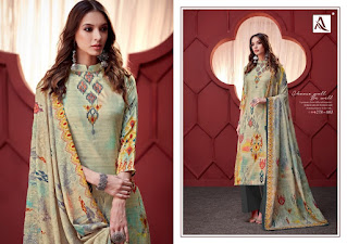 Pakistani design Alok Suit-Ikat Fleetworkers