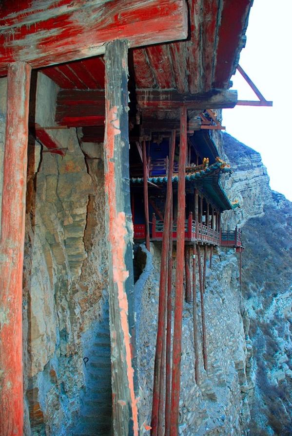 วัดเสวียนคง (Xuankong Temple: 悬空寺)