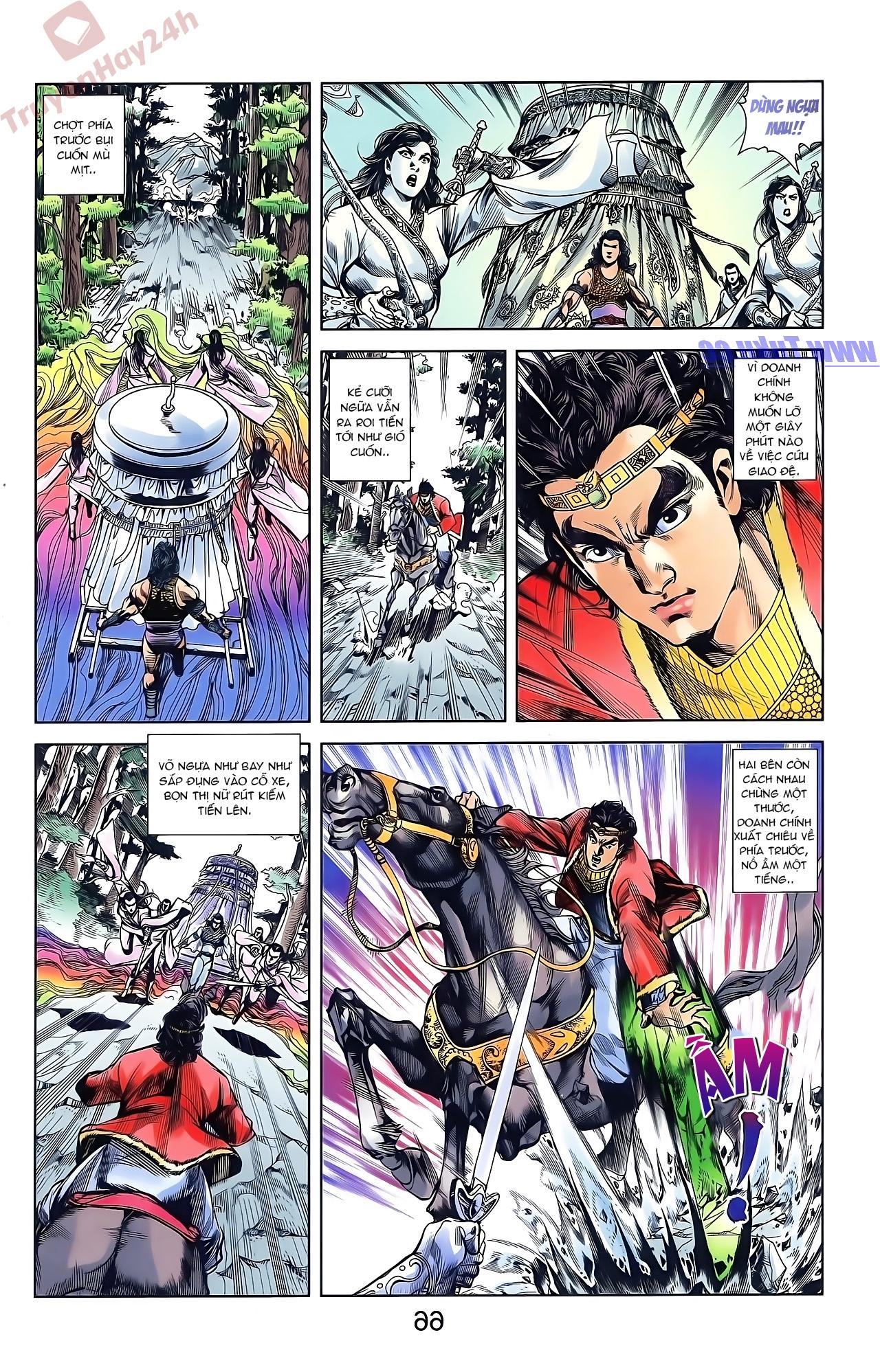 Tần Vương Doanh Chính chapter 44 trang 18