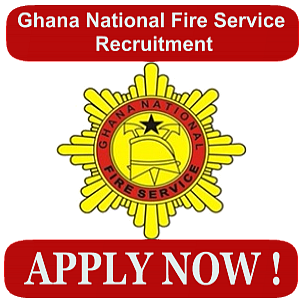 Application Form for Ghana National Fire Service Recruitment-