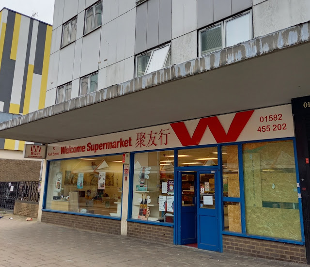 Former Blockbuster Video store on Park Street in Luton