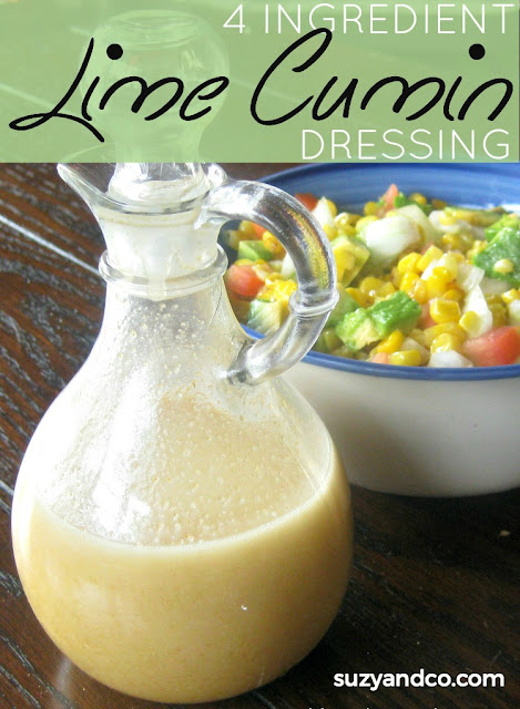 simple lime cumin dressing | suzyandco.com