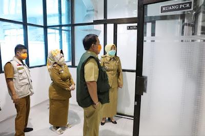 Gubernur Arinal Cek Langsung Alat Diagnonis Covid-19 PCR dari Kementerian BUMN, Pekan Depan Mulai Dioperasikan