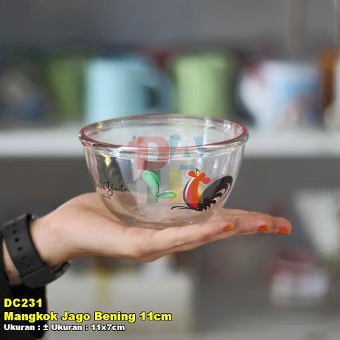 Mangkok Jago Bening 11cm