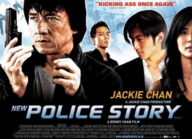 Jackie Chan, Daniel Wu, Nicholas Tsei in New Police Story (Police Story 5)