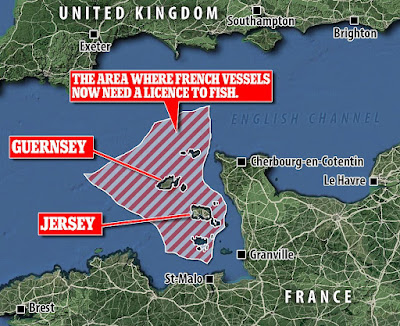 cutting off power to Jersey and Guernsey