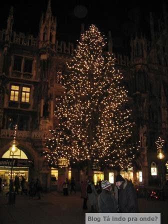 Mercado de Natal em Munique