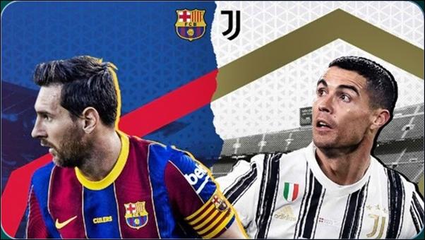موعد مباراة برشلونة ضد يوفنتوس