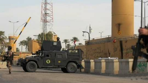 Rocket attack on United States Embassy in Baghdad
