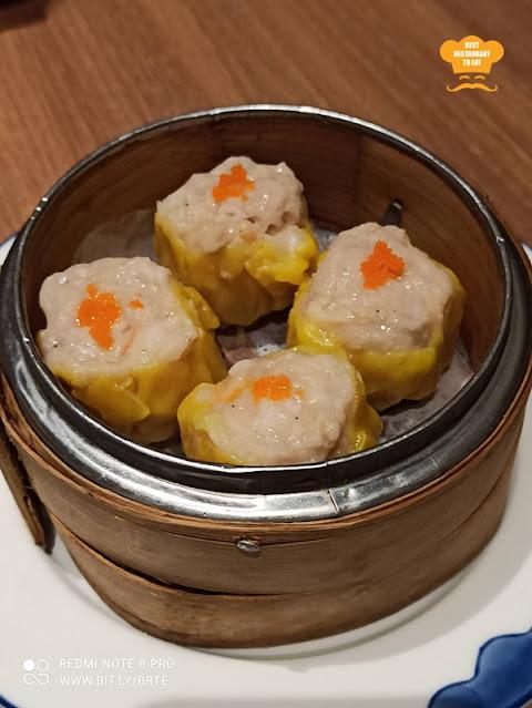 Dim Sum Menu - Steamed Chicken With Prawns Dumplings 鮮蝦雞燒賣