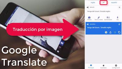 traducir el texto de una imagen que ya tienes guardada en tu teléfono