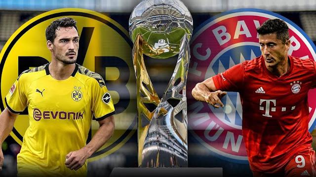 موعد مباراة بايرن ميونخ ضد بروسيا دورتموند والقنوات الناقلة في كأس السوبر الألماني الأربعاء 30 سبتمبر 2020