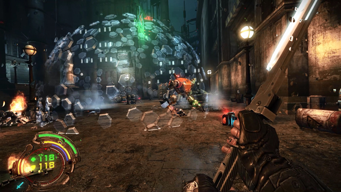 Hard Reset Redux Free Download For PC Highly Compressed || in Parts Full Setup