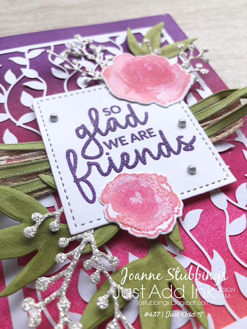 Jo's Stamping Spot - Just Add Ink Challenge #437 using Incredible Like You and First Frost Stamp Sets by Stampin' Up!
