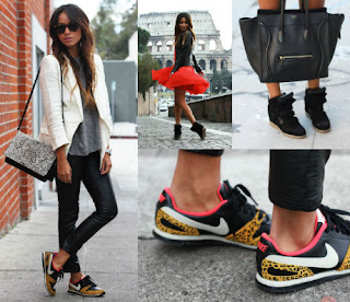 Outfits con zapatillas de moda