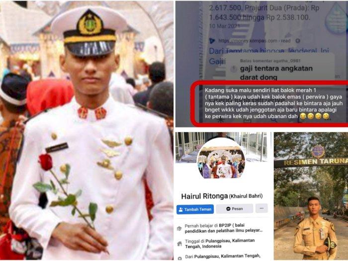 VIRAL! Taruna Pelayaran Hina Prajurit Tamtama Bergaji Kecil: Gayanya Udah Kayak Paling Keras!