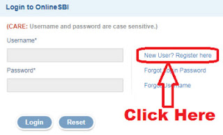 how to activate sbi netbanking first time