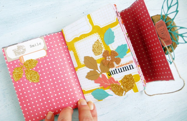 Creare un Mini Album scrap per l'Autunno - DIY Autumn Mini album – Sizzix Big Shot