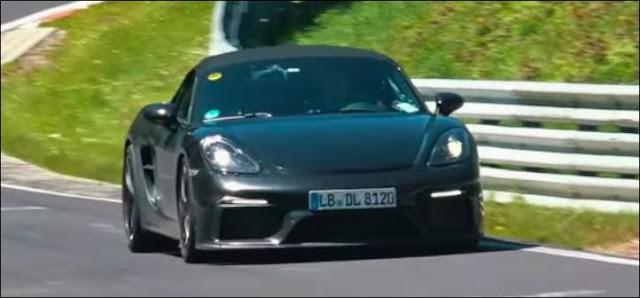 New Porsche 718 Boxster Spyder