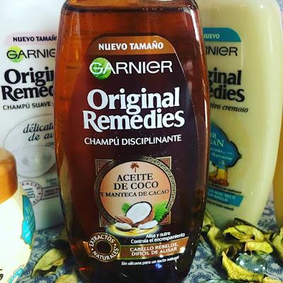 El poder de lo auténtico, original remedies, champú disciplinante, aceite de coco,