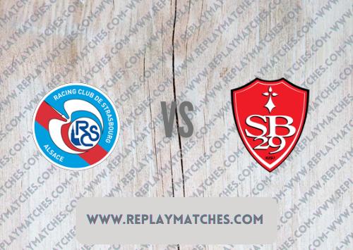 Strasbourg vs Brest -Highlights 29 August 2021