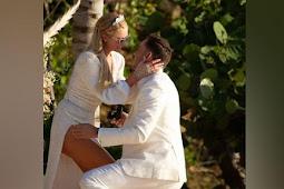 Paris Hilton Dilamar Tunangan Carter Reum dengan Cincin Berlian Bermata Zamrud
