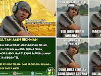 Biodata Asli Sultan Amin Richman, Tokoh Meme Horang Kayah