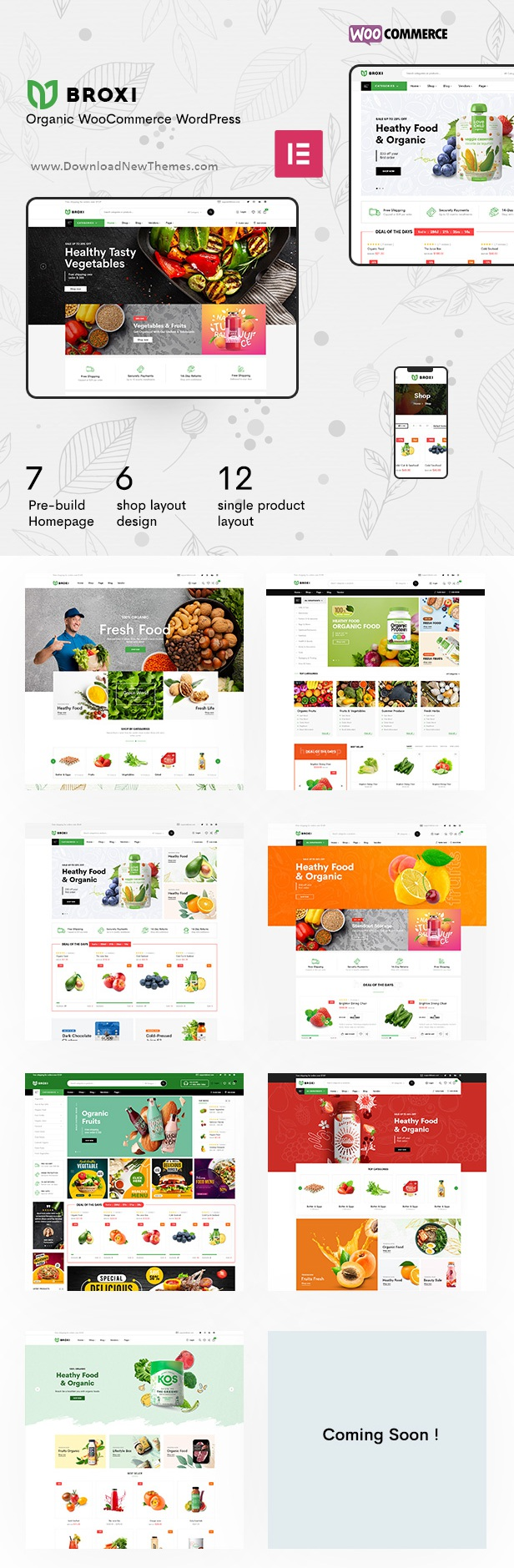 Best Organic and Food WooCommerce WordPress Theme