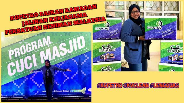 KOPETRO Raikan Ramadan : Program Cuci Masjid