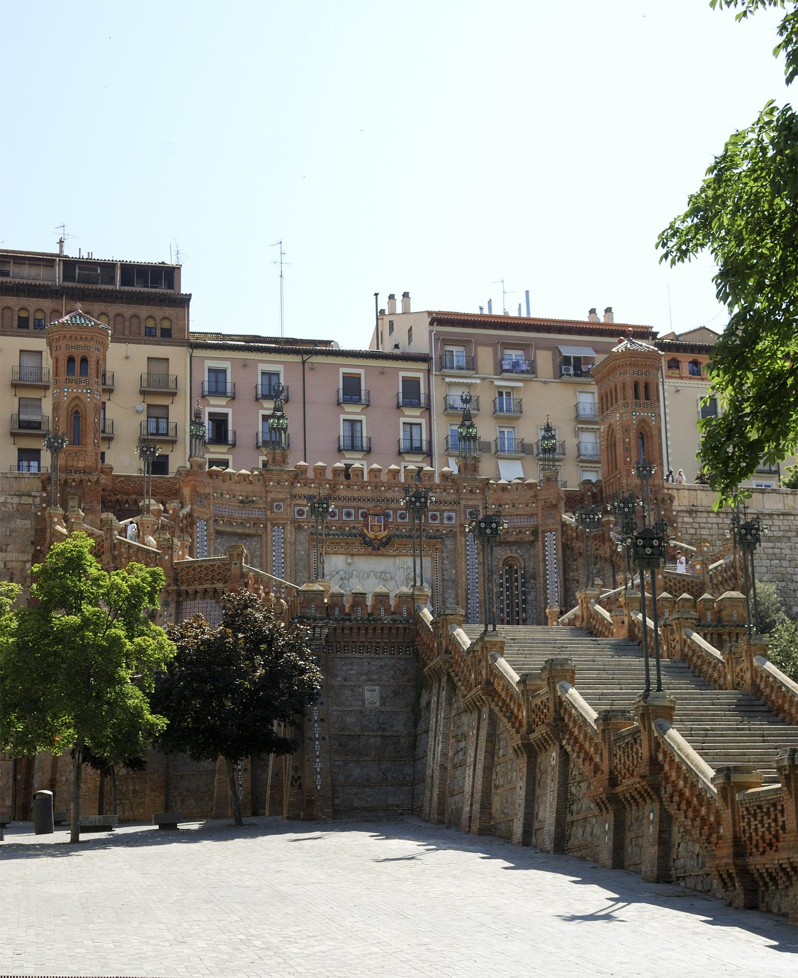 Teruel staircase