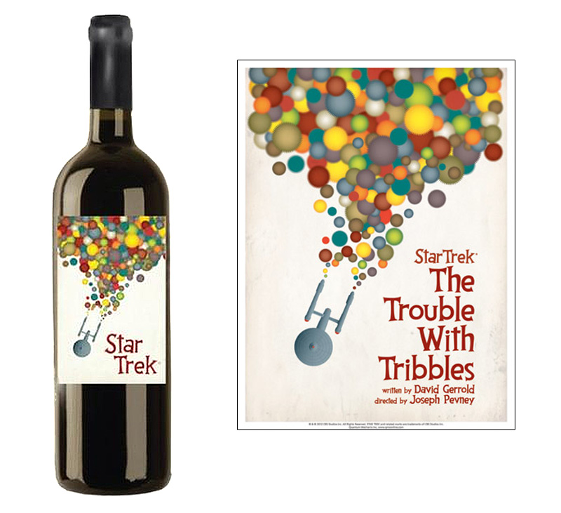 Star Trek Wine The Trouble With Tribbles