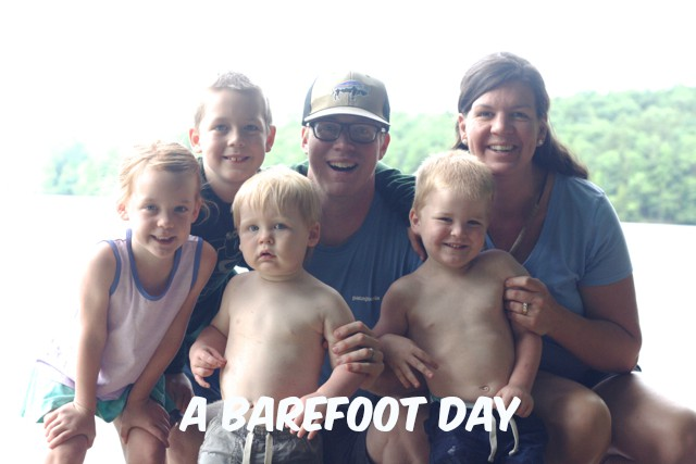 A Barefoot Day