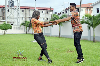 Music Producer EnzyPro & His Bride Adanne Loved Up In Fabulous Pre-Wedding Shoot 4