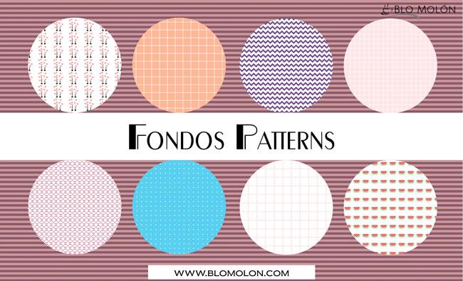 fondos patterns cuatro