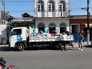 Carreata pela Campanha do Agasalho movimenta as ruas de Eldorado
