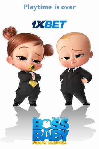 The Boss Baby 2 Family Business 2021 480p 300MB BRRip Dual Audio