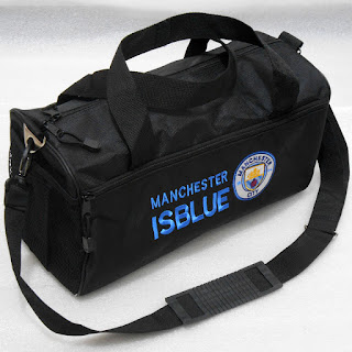 Jual Tas Duffel Travel Bag Bola Manchester City