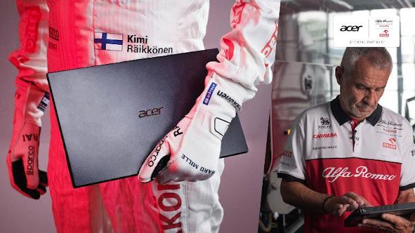 Acer e Sauber Motorsport Mantêm Parceria em 2021