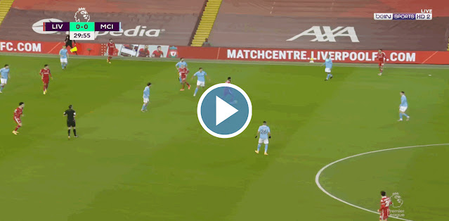 Liverpool vs Manchester City Live Score
