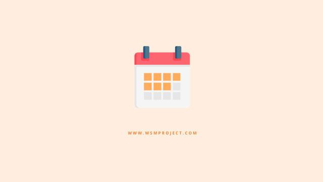 Download Desain Kalender 2021
