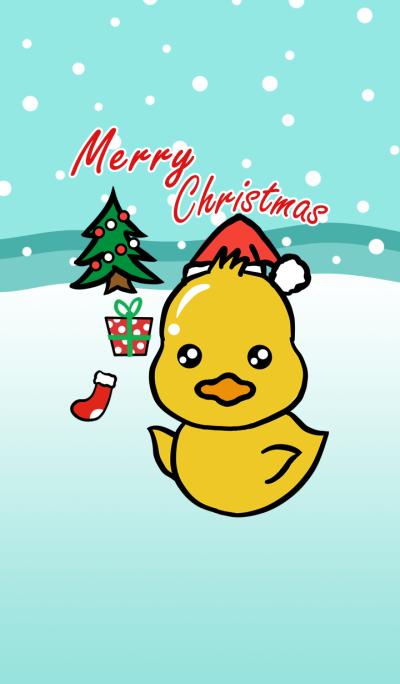 Christmas Cute Duck