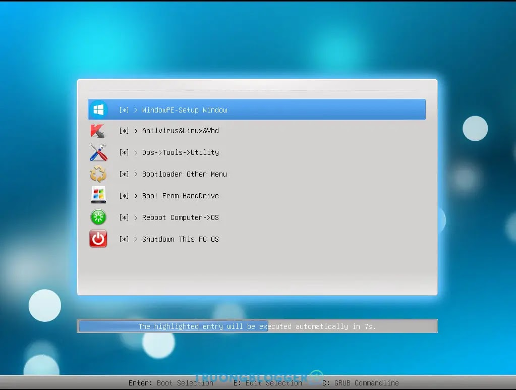 Chia sẻ Multiboot Boot USB - Nasiboot