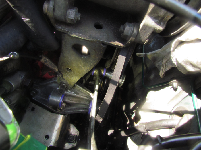 SAAB c900 Alternator Installation Crawls Backward (When Alarmed)