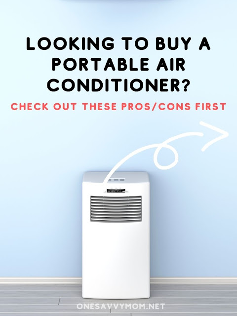 Should You Invest in a Portable Air-Con Here are Some Deciders Pros Cons One Savvy Mom blog NYC