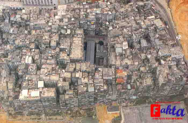 Kowloon Walled City China kota hantu yang tidak berpenghuni