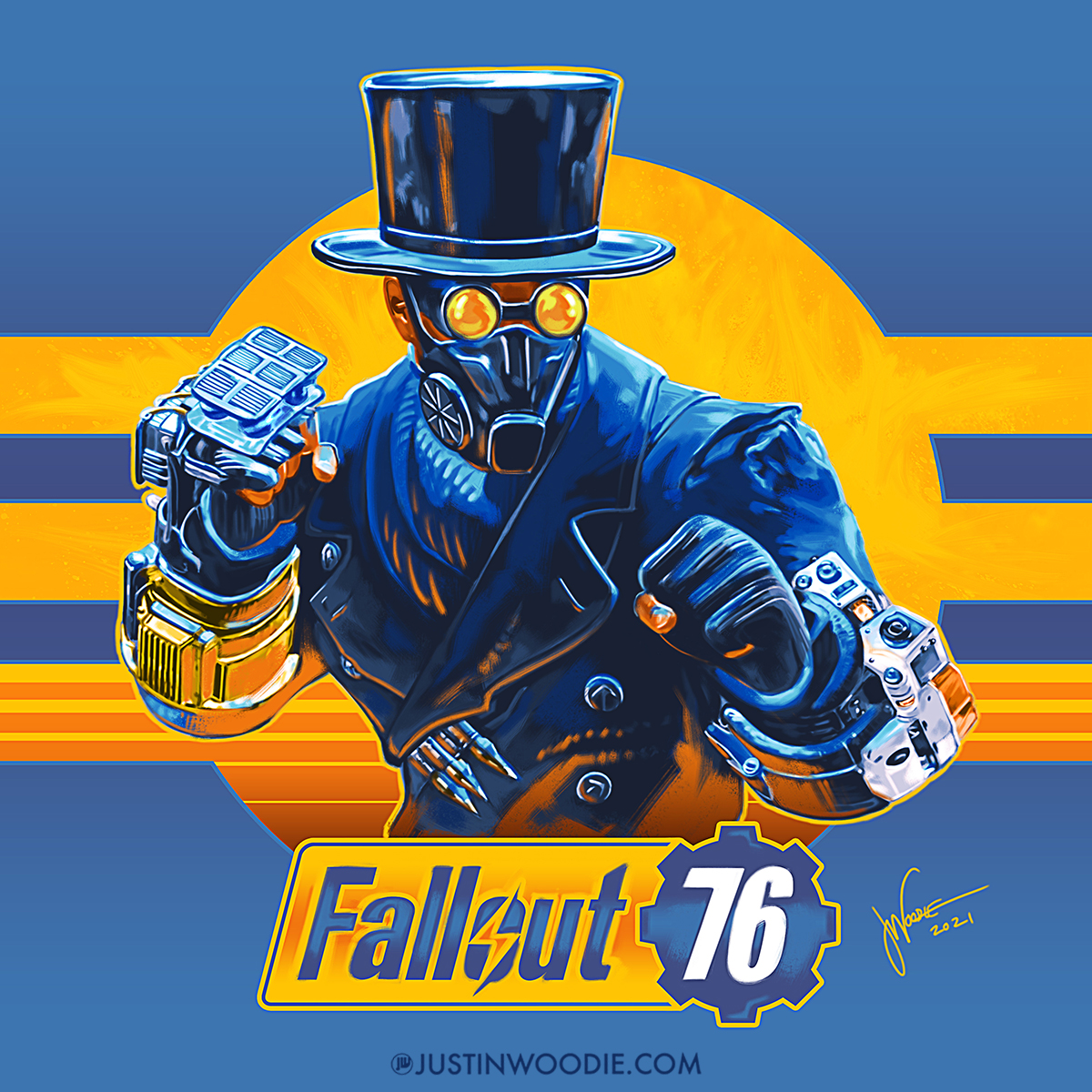 Fallout 76 Digital Illustration