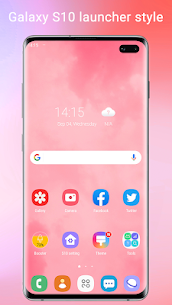 Super S10 Launcher Prime v2.1 Paid Apk